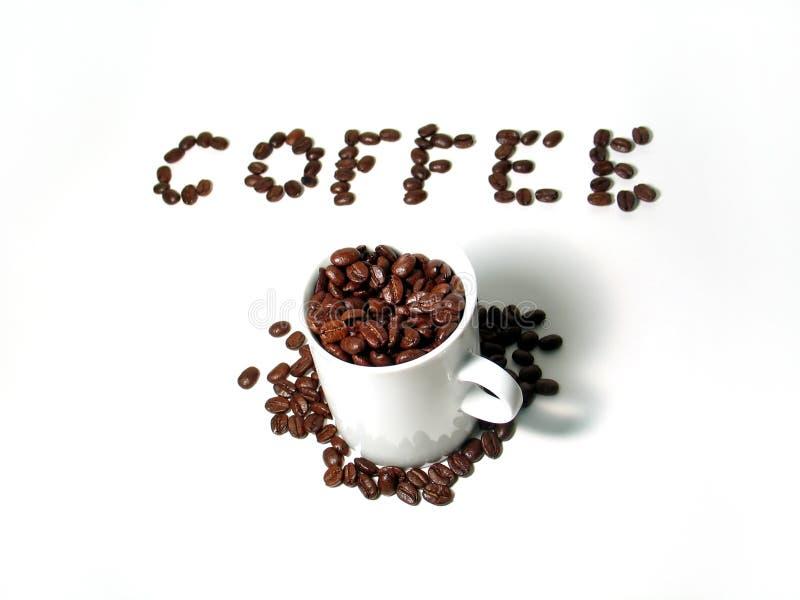 4 kaffeserie arkivfoton