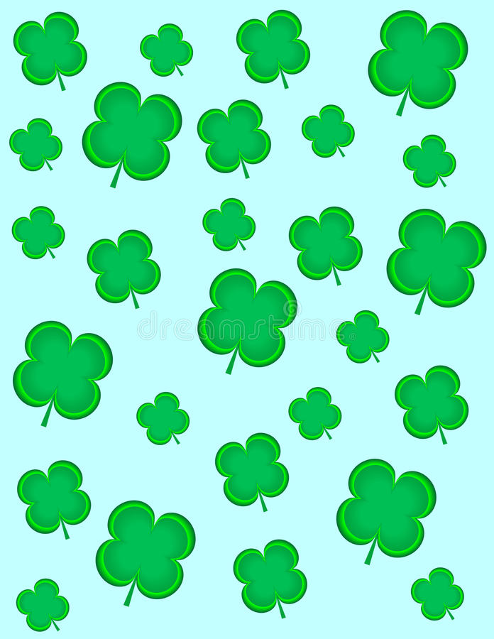 Free 4 Leaf Clovers Royalty Free Stock Photography - 14522587