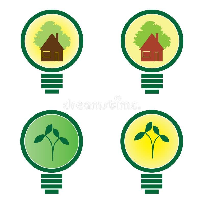 Download 4 Light Bulb - Environmental Illustration Stock Vector - Image: 20549037