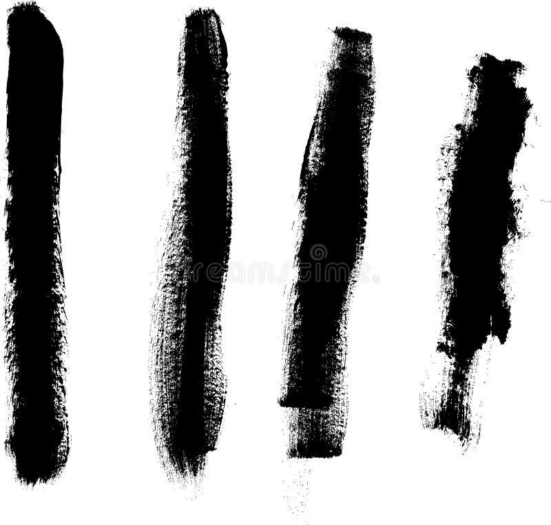 4 linhas grossas ilustração stock