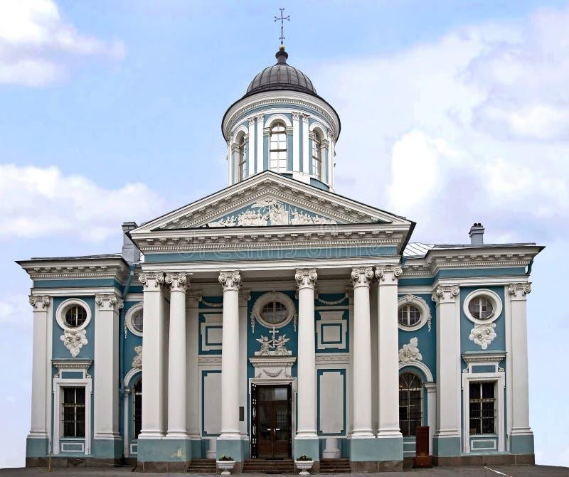 4 miłe kościoła. fotografia stock