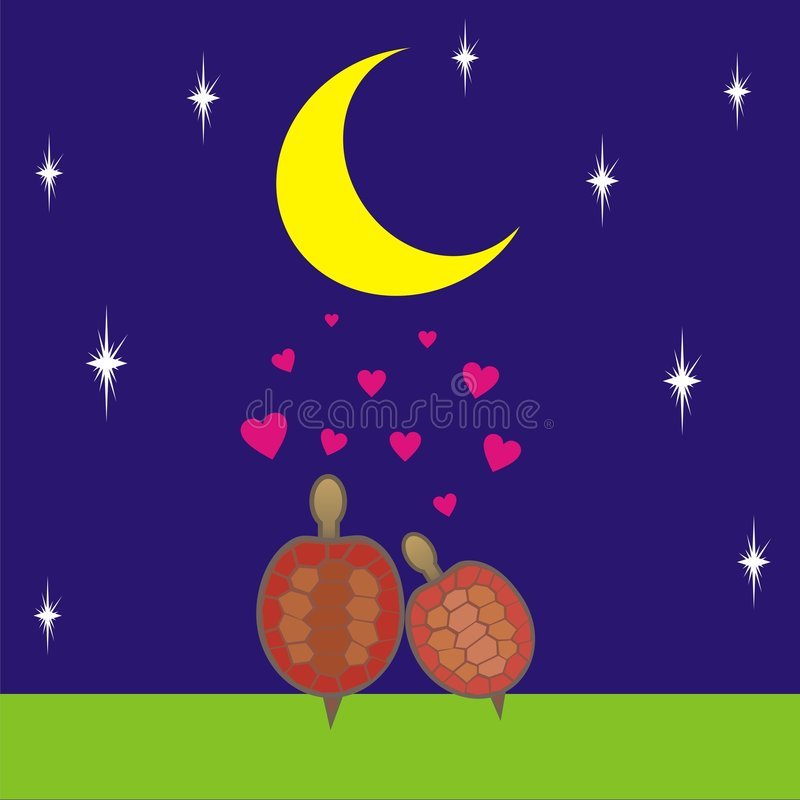 4 miłości royalty ilustracja