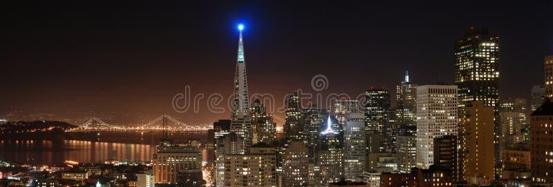 4 panorama San Francisco obrazy stock