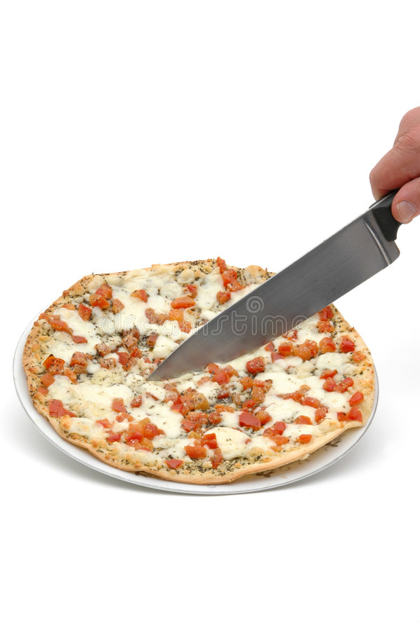 4 pizza margherita zdjęcie royalty free