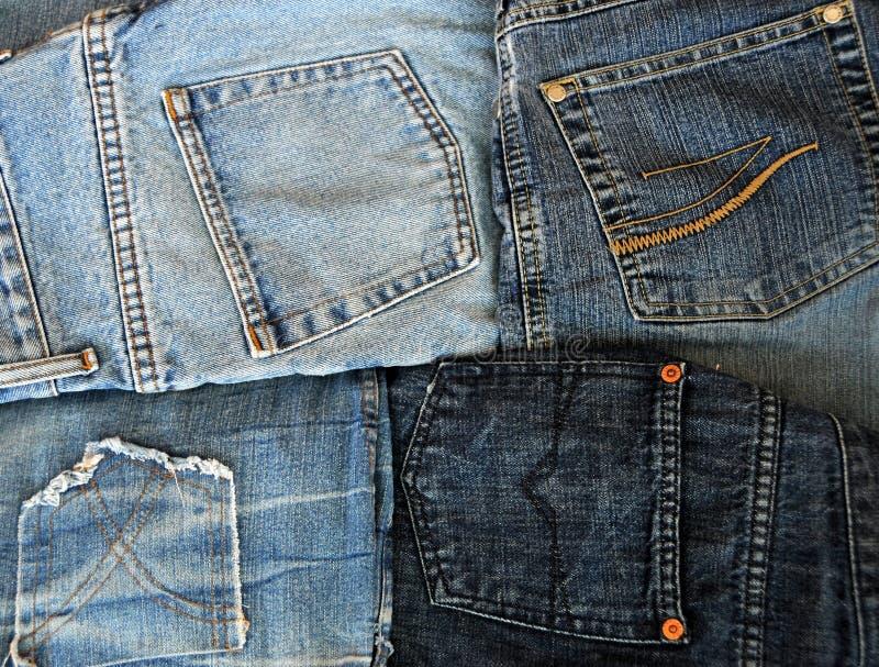 4 pokets джинсыов стоковые фото