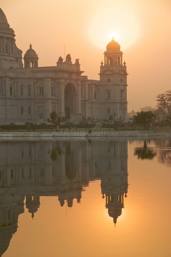 4 pomnik Calcutta Victoria obraz royalty free