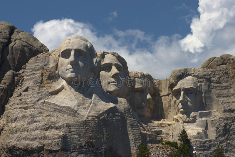 4 Presidents stock photos