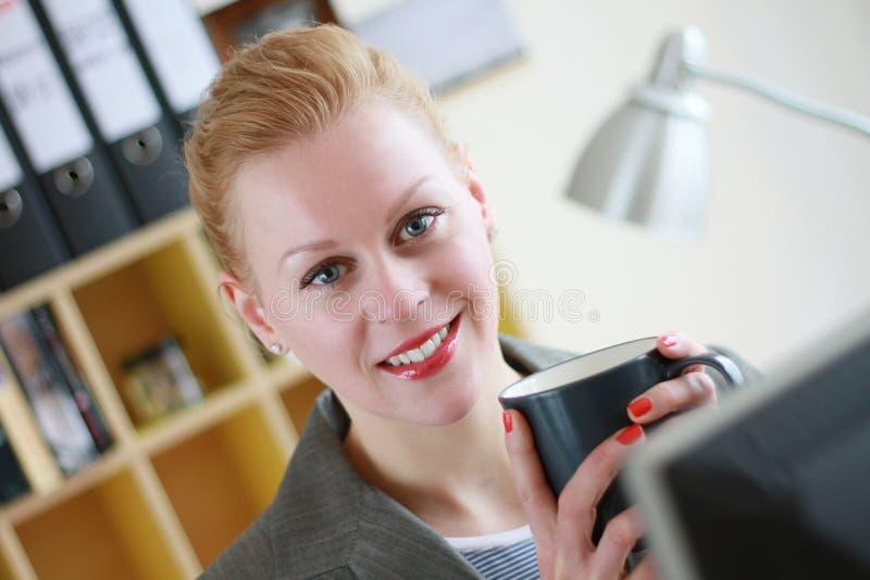 4 przerw kawy biuro zdjęcie royalty free