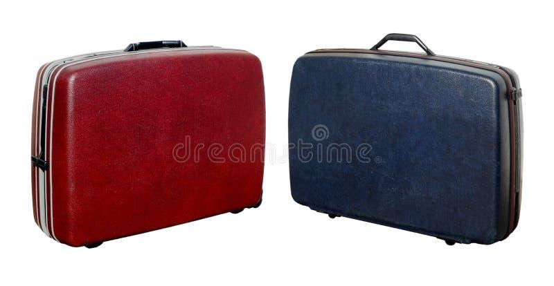 4 Resväskor Arkivfoton