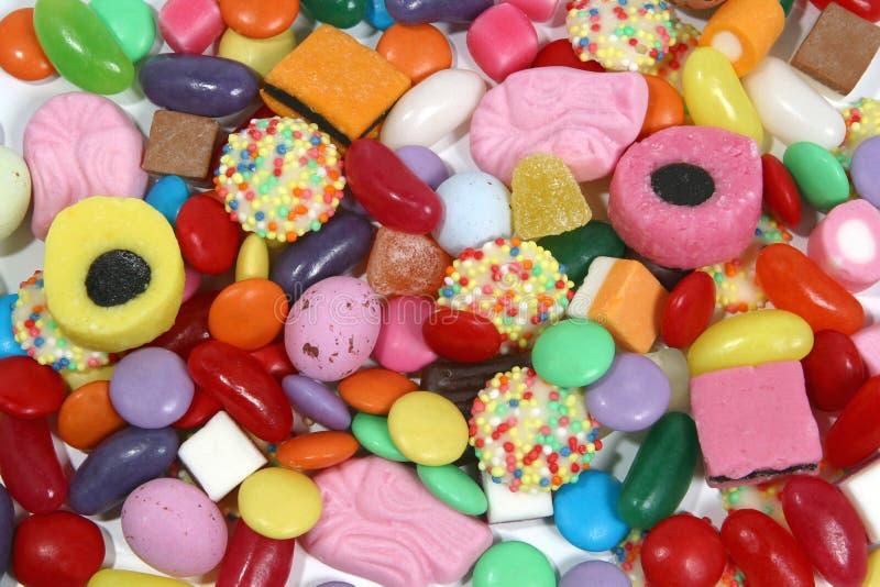 4 sötsaker royaltyfria bilder