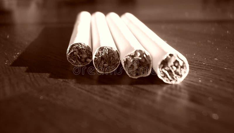 4 Sigarette Immagini Stock