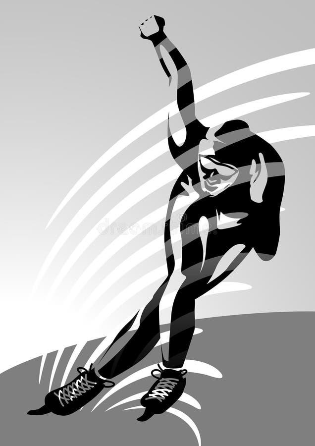 4 speedskating αθλητικός χειμώνας ελεύθερη απεικόνιση δικαιώματος