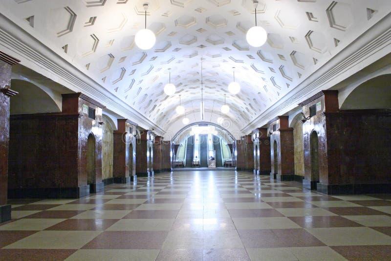 4 stacji metra obrazy stock