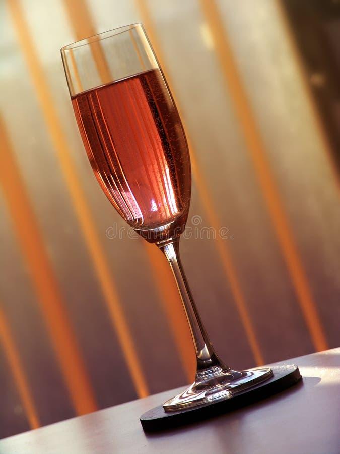 4 wino musujące fotografia stock