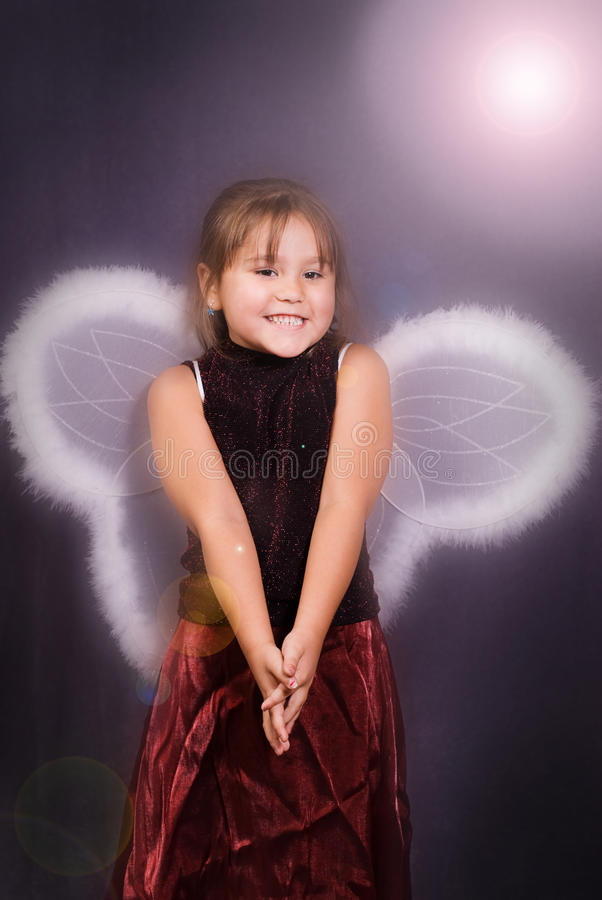 Download 4 Year Old Angel stock image. Image of closeup, caucasian - 11446647