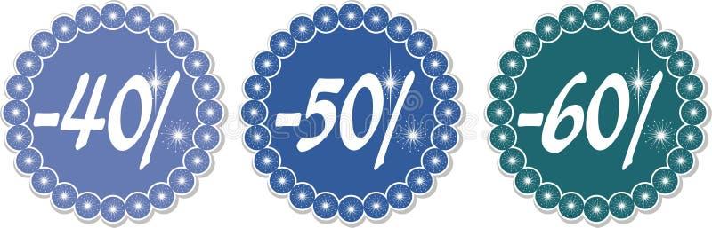 40 зима 60 рабатов бесплатная иллюстрация
