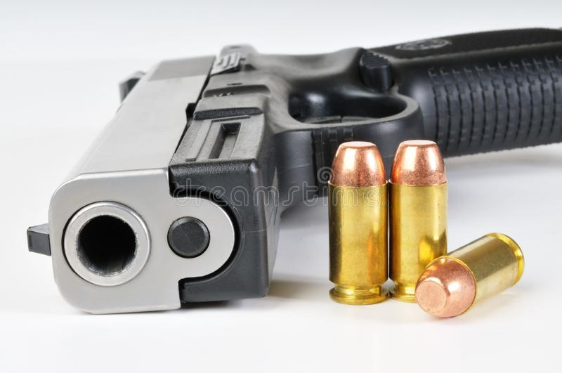 40 Caliber Firearm Royalty Free Stock Photography
