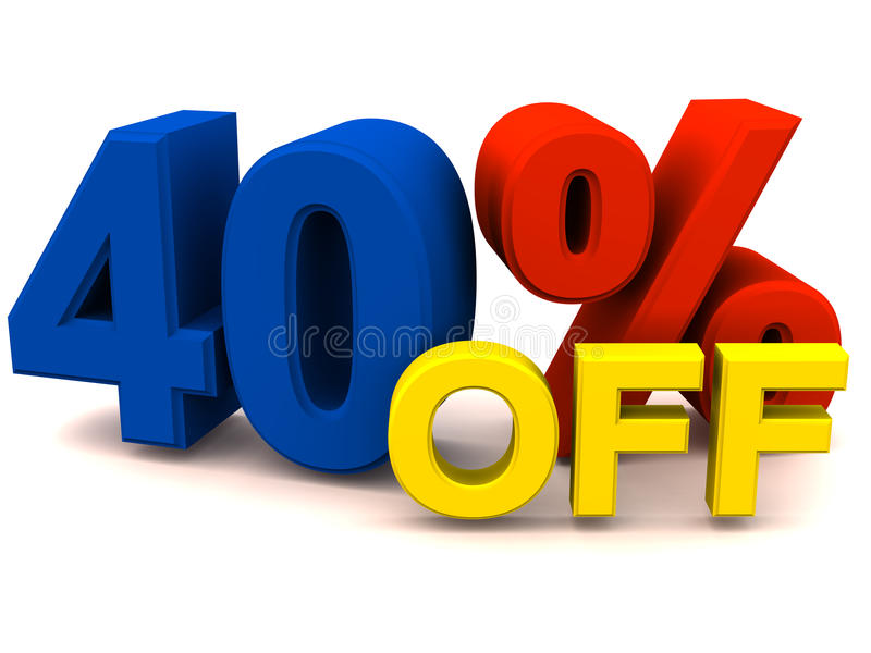 Download 40 Percent Off Stock Photos - Image: 25758893