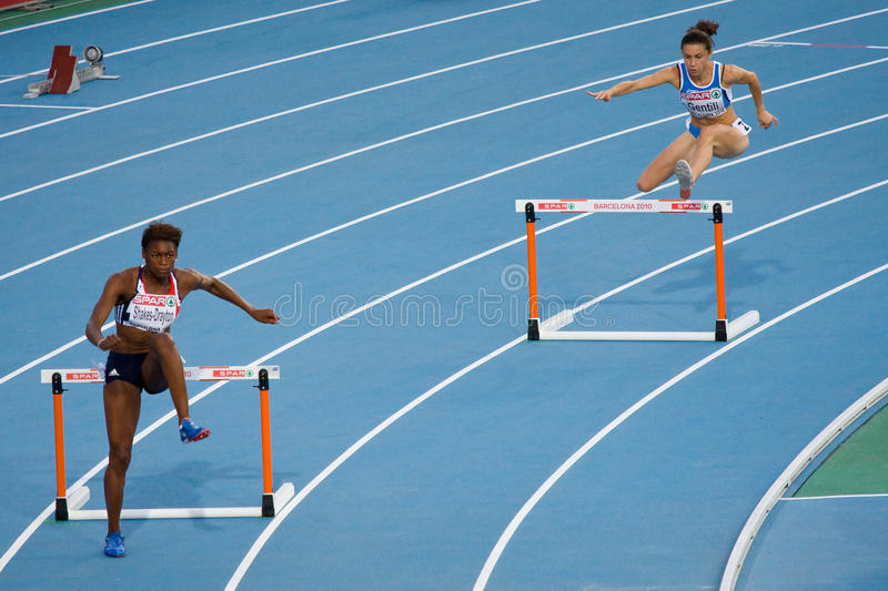 Download 400 m Hurdles women editorial image. Image of sport, championship - 17027240