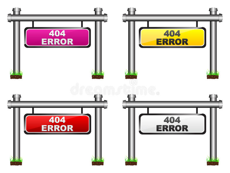 Download 404 Error Banner Stock Photo - Image: 18102800