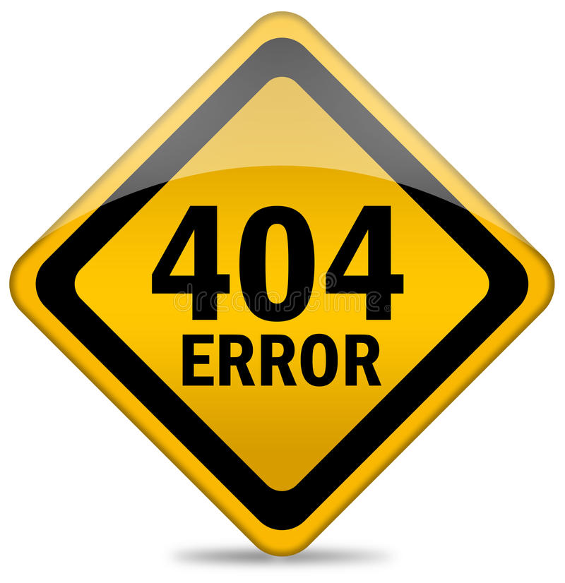 Download 404 error sign stock illustration. Image of failed, error - 16655756