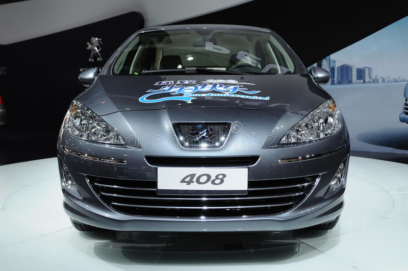 408 frontowy Peugeot obrazy royalty free