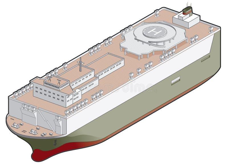 41 f elementów projektu ikony roro statku royalty ilustracja