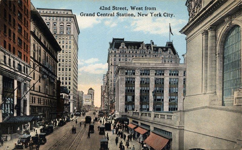 42.o Calle, del oeste imagen de archivo