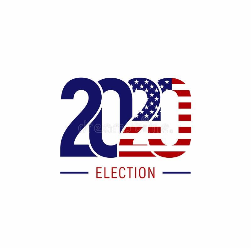 Free 421_USA Election 2020. Vector Design Print Royalty Free Stock Photo - 183208935
