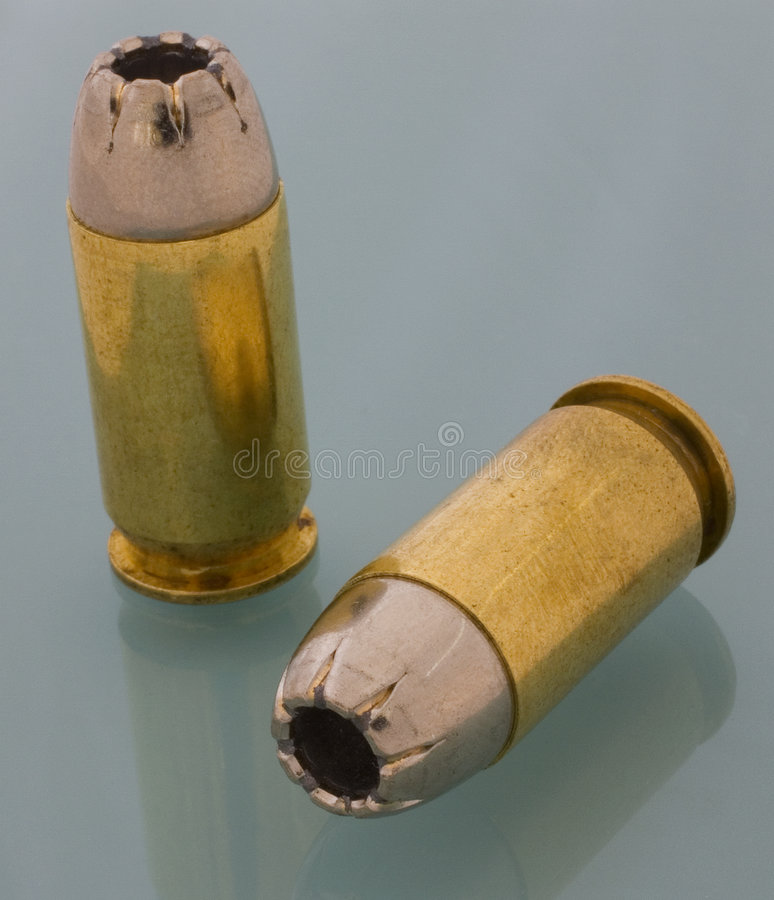 Download 45 ACP ammo stock image. Image of defense, hollowpoint - 5422901