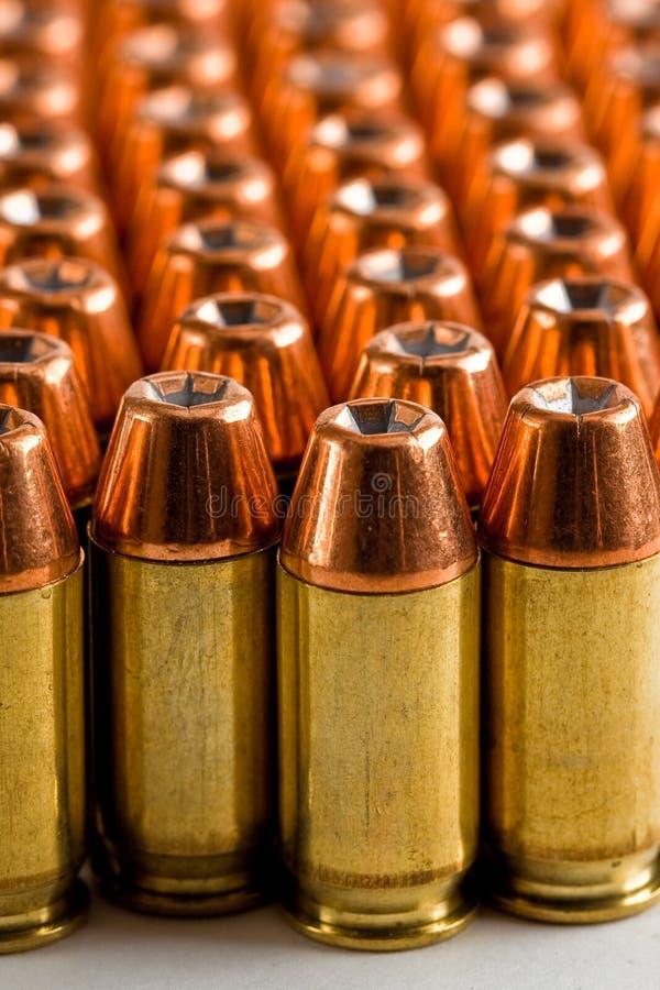 .45 munizioni di ASP fotografia stock