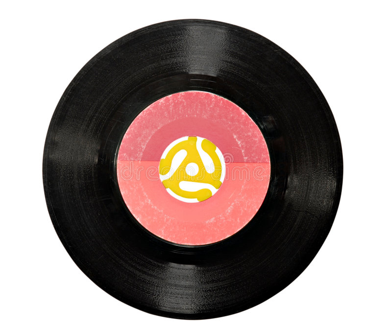 Download 45 rpm Vinyl Record stock image. Image of label, black - 4438083