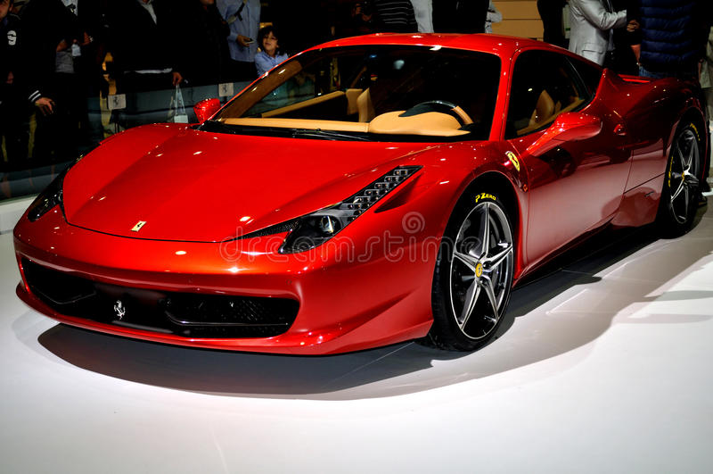 458 Ferrari zdjęcie stock