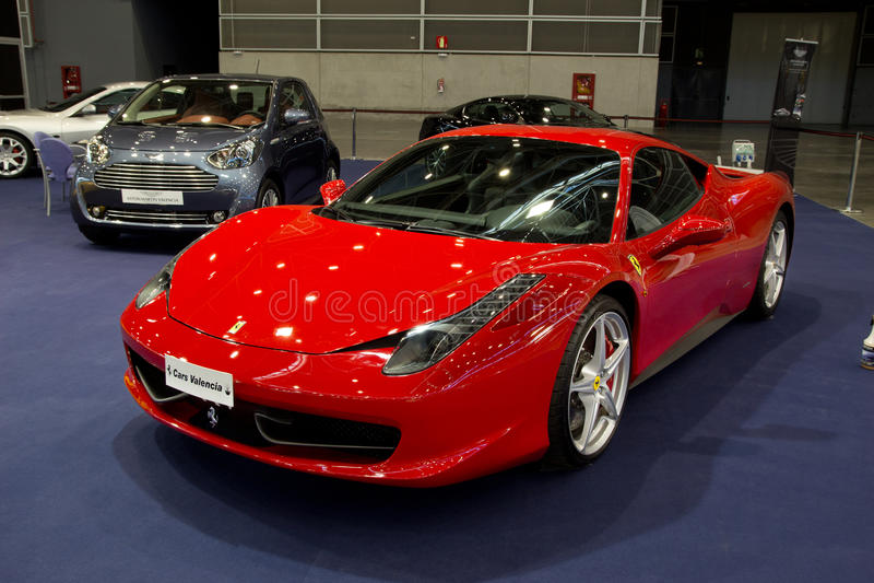 458 Ferrari pająk zdjęcia royalty free