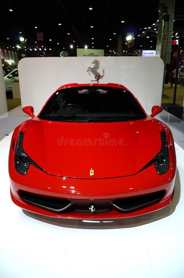 458 Ferrari pająk obrazy royalty free