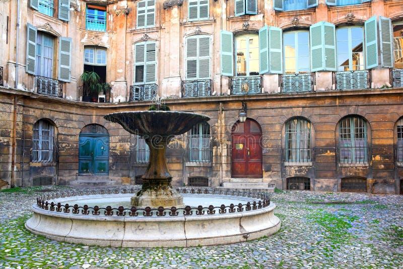 47 en aix - Provence zdjęcia stock