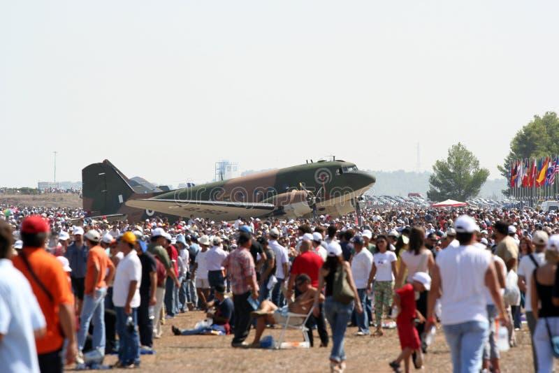 Download 47d Folkshow För Luft C Dakota Fotografering för Bildbyråer - Bild av händelse, folk: 249621