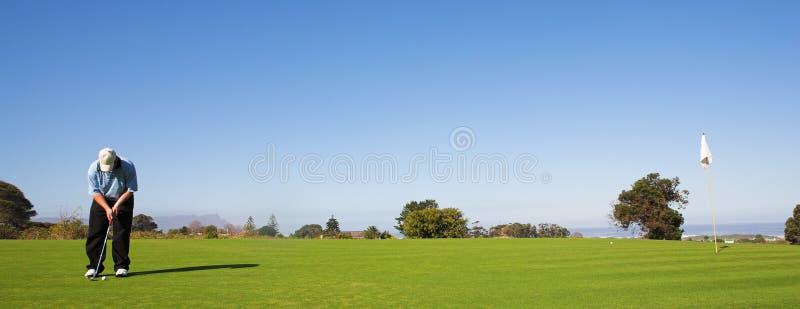 48高尔夫球运动员 免版税库存图片