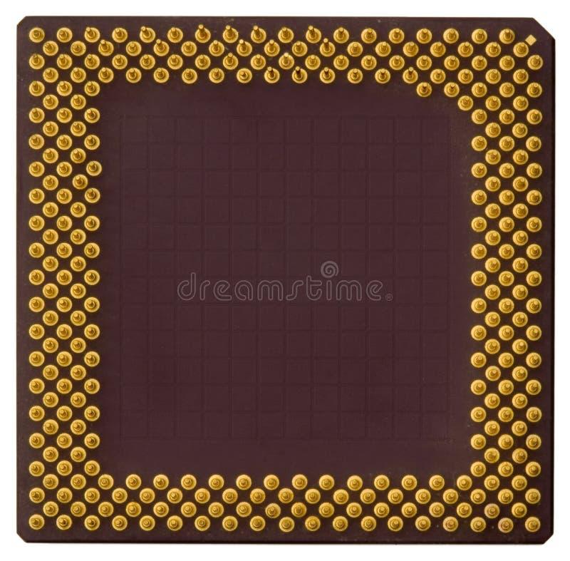 486 PC CPU royalty free stock photo