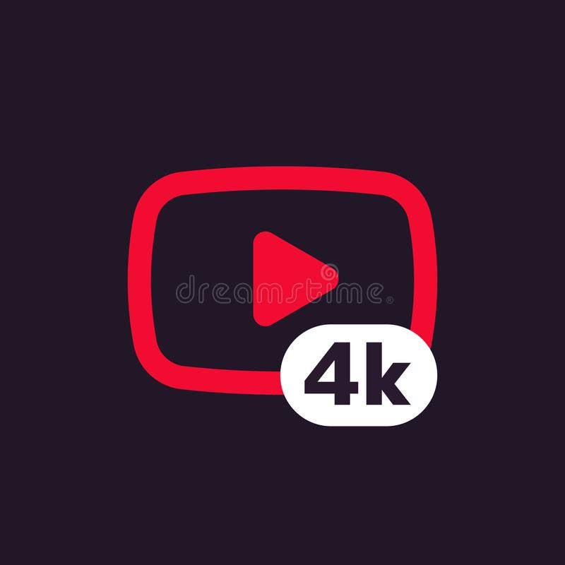 Free 4K Video Icon Stock Images - 99880504