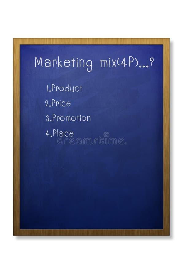 4p marketing mieszanka ilustracja wektor