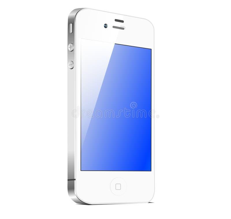 4s例证iphone白色 皇族释放例证