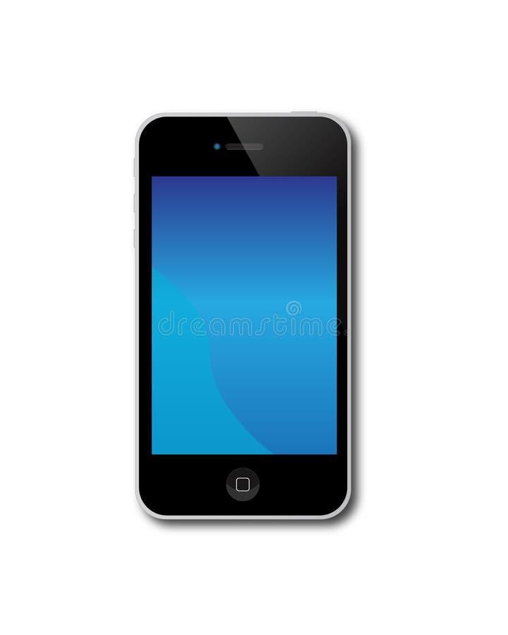 4s苹果iphone 库存例证