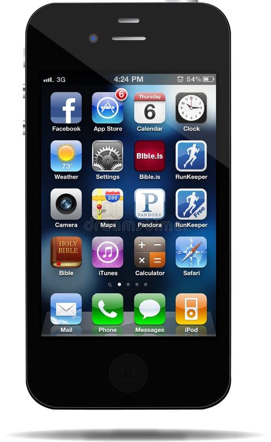 4s iphone 向量例证