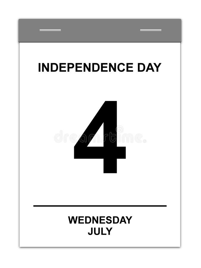 4th July Royalty Free Stock Images