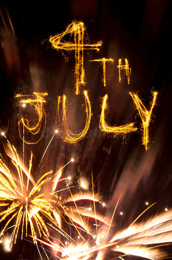 Free 4th July Fireworks Royalty Free Stock Photos - 27530448