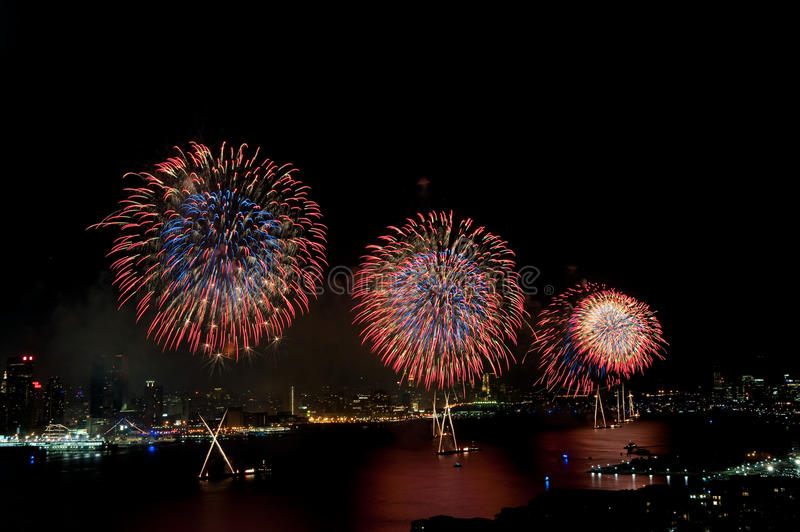 Download 4th Of July Macys Fireworks Display Stock Photo - Image: 10039464