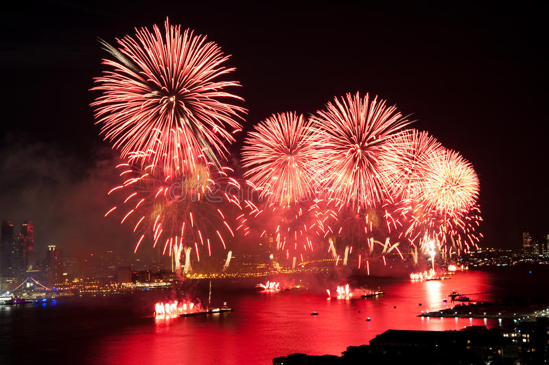 Download 4th Of July Macys Fireworks Display Stock Image - Image: 10039475