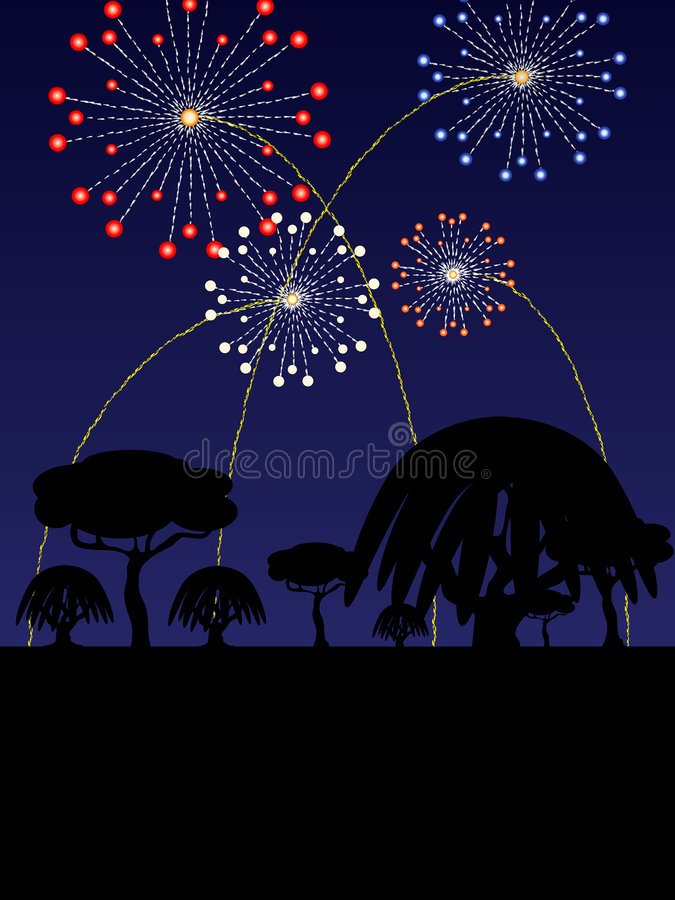 Download 4th Of July Scenic Illustration Stock Illustration - Image: 5195010