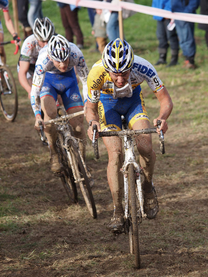 Download 4th Round Of The 2011-2012 Cyclocross World Cup Editorial Stock Photo - Image of mountainbike, biscay: 22417753
